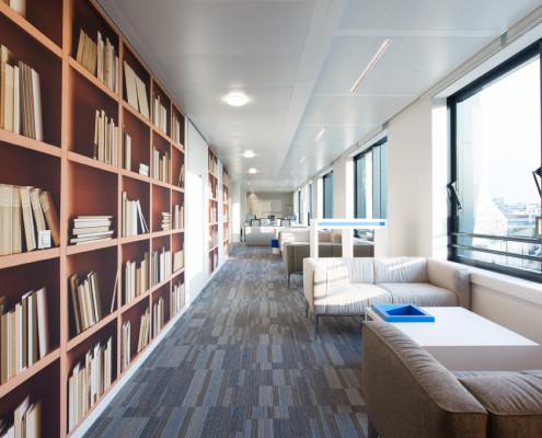 Cbre design project cloudwatt for Salle de detente